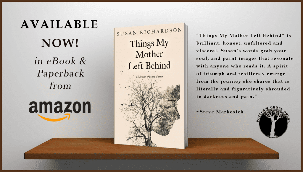 release notice for book things my mother left behind